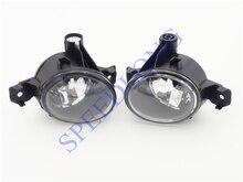 2 Unids/par sin bombillas parachoques delantero de conducción faros de niebla lámparas para BMW X5 E70 2007-2010