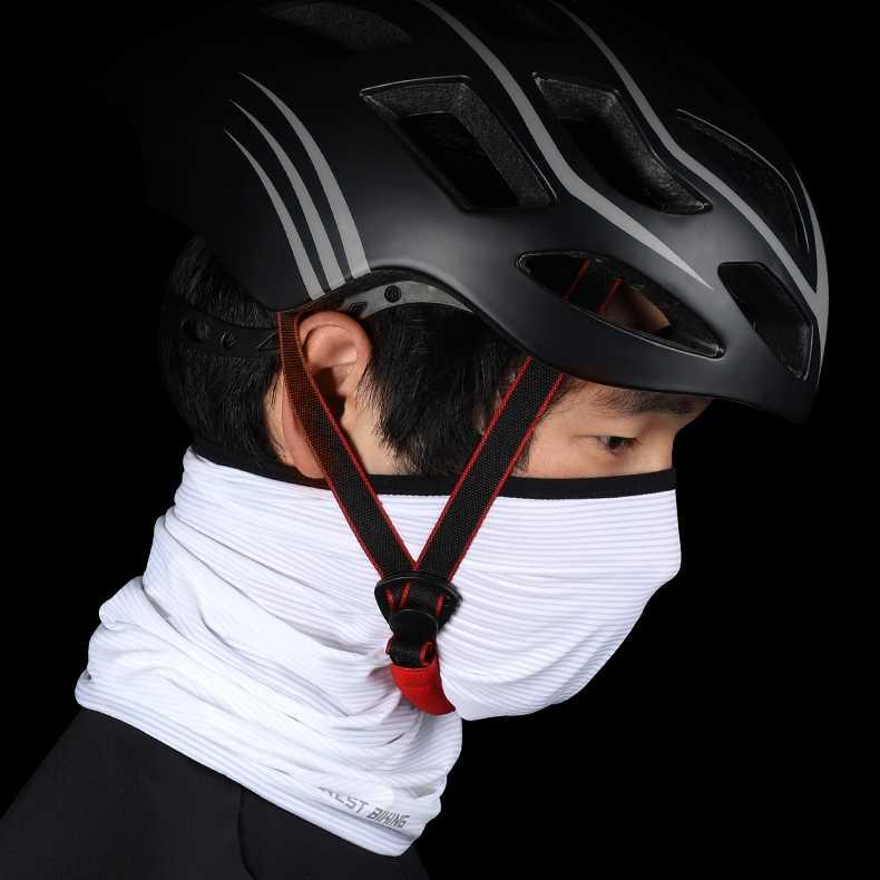 WEST BIKING Summer Cycling Face Mask Ride Running Scarf Anti-UV Headwear Bicycle Bandana Sports Fishing Mask Cover Magic Scarf
