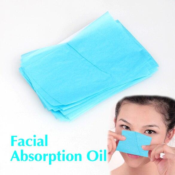 50pcs Paper Pulp Random Facial Oil Control Absorption Film Tissue Makeup Blotting Paper