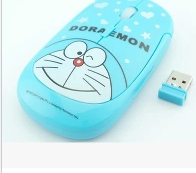 Wireless Mouse Cute Hello Kitty Ultra Thin Computer Mice 1600DPI USB Optical Gaming Mause For PC Laptop kids Girl Gift 4