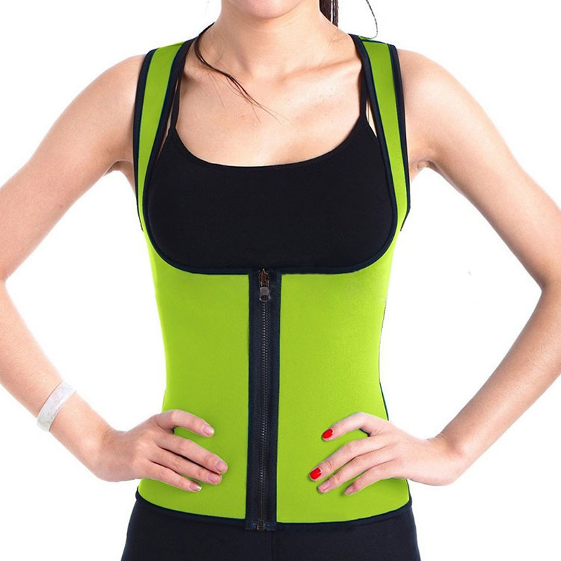 Waist Trainer Losing Weight Product Fat Burning Body Wrap Slimmer Neoprene Belt Stomach Slimming Corset Body Slimming Vest Women
