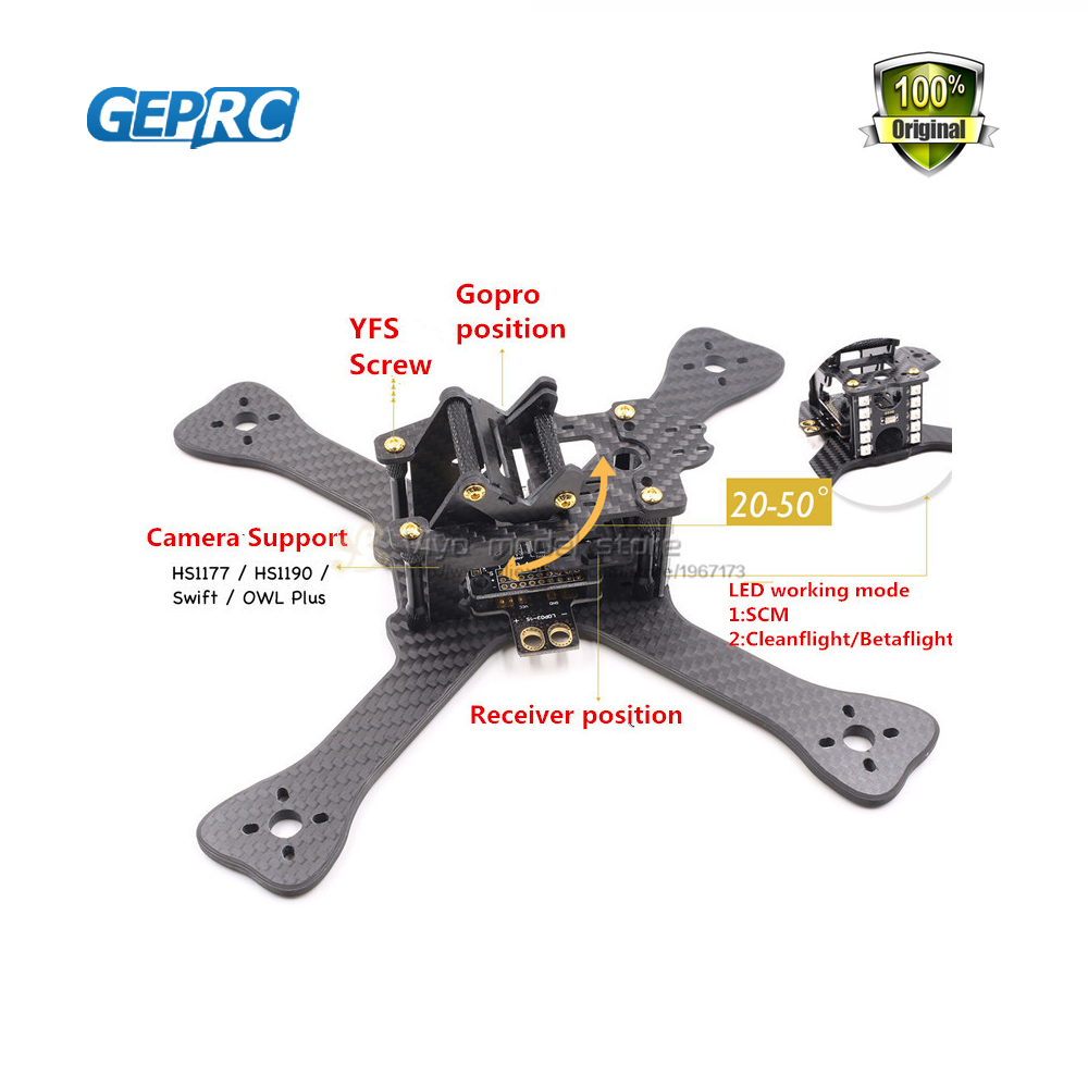 FPV Mini 210 210mm Carbon Fiber Frame Drone Quadcopter 4mm arms F3 Acro PDB XT60 board Batter than QAV-X QAV-R for GEPRC GEP-TX carbon fiber diy mini drone 220mm quadcopter frame for qav r 220 f3 flight controller lhi dx2205 2300kv motor