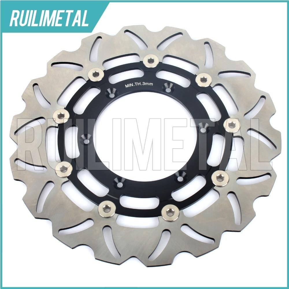 Новые передние тормозные диски ротора диск для Сузуки ДРЗ 400 см теннисный корт 05 06 07 08 09 10 К5 К6 К7 К8 К9 П0 DRZ400SM