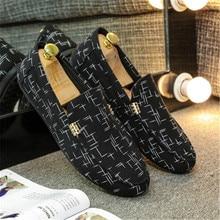 Men Shoes 2019 Spring Men Casual Shoes Canvas Shoes Fashion Loafers Men Breathable Outdoor Male Shoes Black free dropshipp