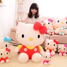 New hello KT cat plush font b toy b font doll birthday gift sitting height 25cm