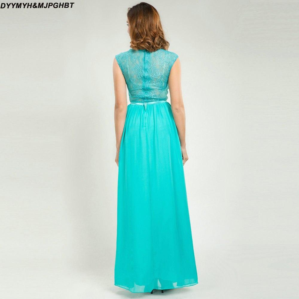Elegantní šněrování krajky šaty družičky V kravatu mincovna - Šaty pro svatební hostiny - Fotografie 5
