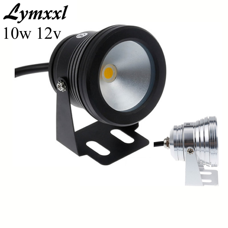 Wholesale 10w Led Underwater Light Dc12v Waterproof Ip68 Fountain Pool Aquarium Lamp Black Body Cool White/warm White To Have A Long Historical Standing Led Underwater Lights