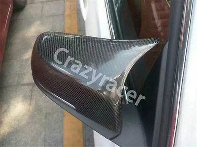 M3 Style Carbon Fiber Mirror Cover Caps For BMW F30 Sedan 13-15 f10 side wing rearview mirror cover caps for bmw sedan 11 13 carbon fiber