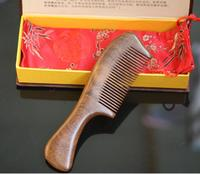 Top qulity hand made hair wooden comb natural ebony hair comb wooden hair comb