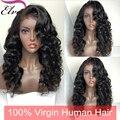 150% плотность полный шнурок человеческих волос парики Для Черные Женщины Свободные волна Фронта Шнурка человеческих волос парики Glueless Передняя парики шнурка ребенка волос