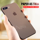 ZNP 0.26mm Ultra Thin Matte Protection Case For iPhone 7 6 6s Plus 8 Slim Cover Cases For iphone 7 8 Plus 6 6s Phone Case Shell