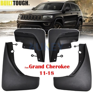 Set Front Rear Car Mud Flaps For Jeep Grand Cherokee WK2 2011-2018 Mudflaps Splash Guards Mud Flap Mudguards 2012 2013 2014 2015