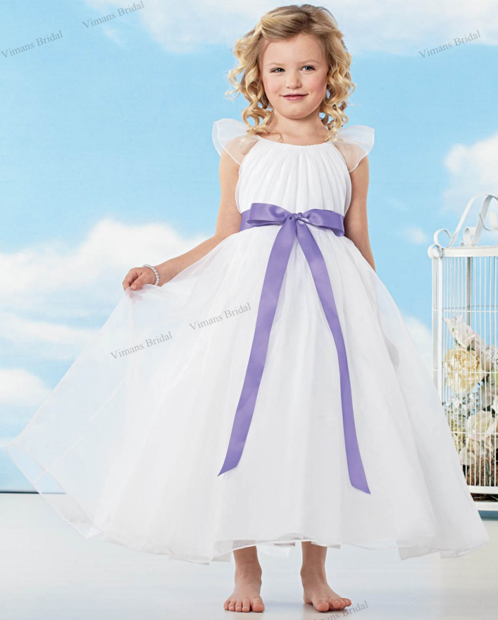 Popular childrens wedding gowns buy cheap childrens for Wedding dresses for child