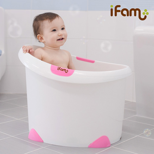 Ifam baby bath bucket baby bathtub bath bucket Large-in Inflatable ...