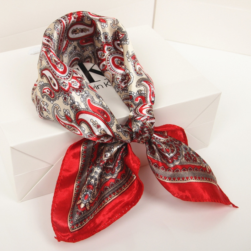 New Multi-Purpose Bandana Gift Sets Decorative Multi-functional women accessories Cotton Paisley Print Head Wrap Scarf Wristband