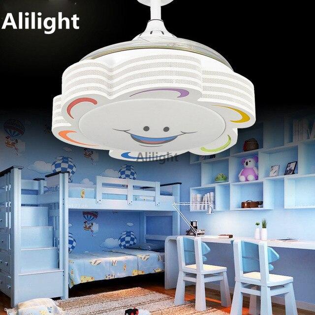 Invisible Ventilateurs De Plafond Avec Lumire Enfant Ventilateur