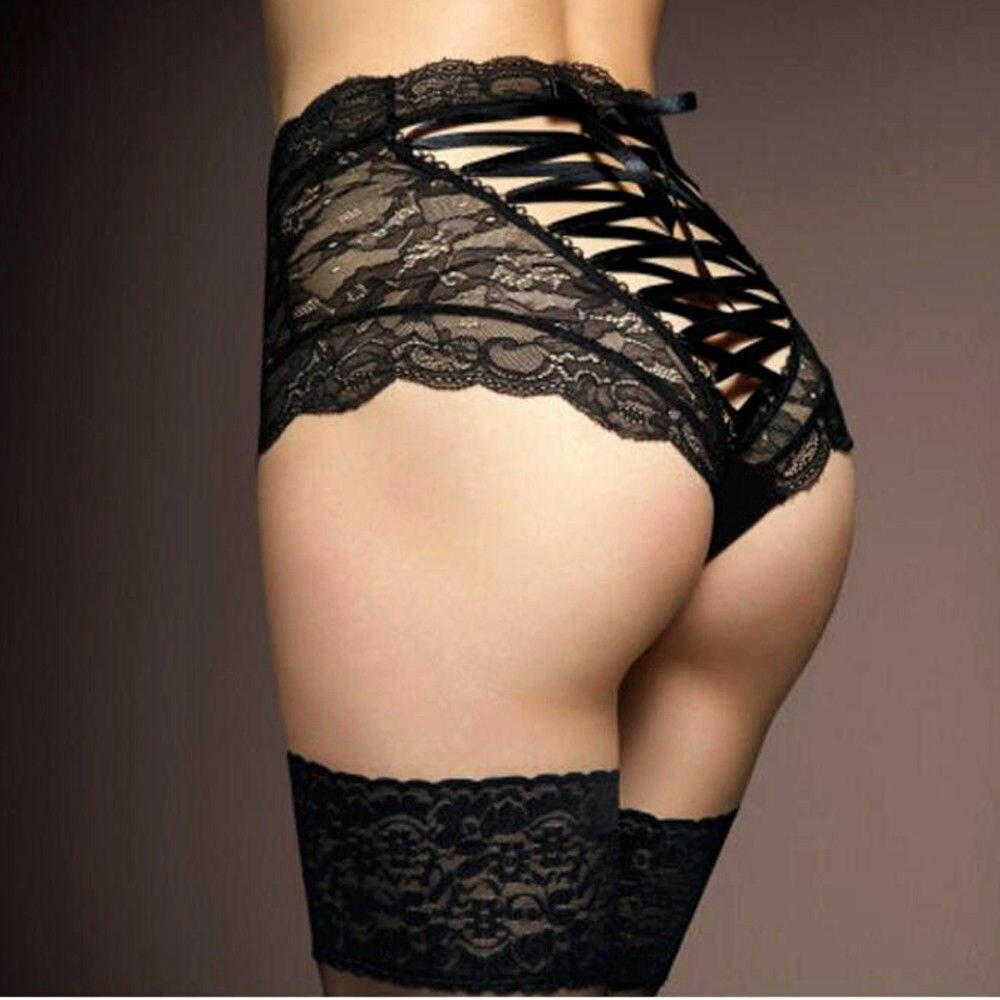 Women Ladies Girls Sexy Lace Floral Brief   Panties   Thong High Waist Knicker Underwear Boxer Shorts   Panties