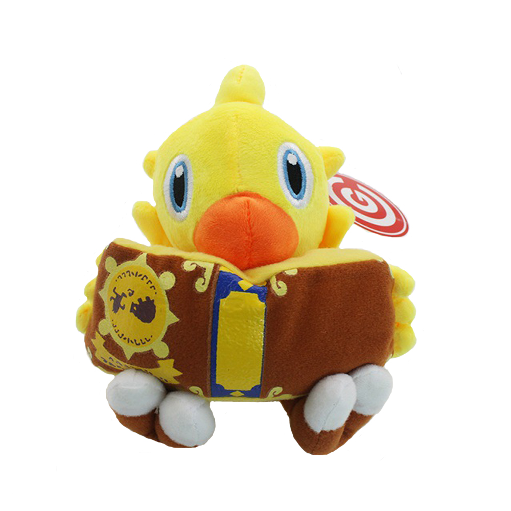 Game Final Fantasy VII 7 CHOCOBO Magic Book 18cm Plush Toy Soft Stuffed Doll Collectible