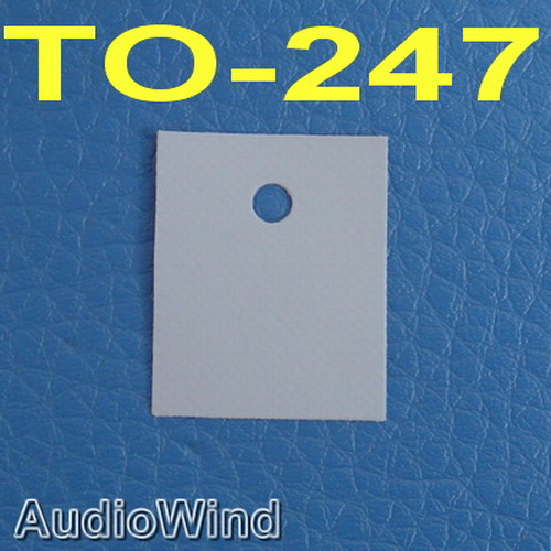 ( 50 Pcs/lot ) TO-247 Transistor Silicon Insulator,Insulation Sheet.