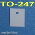 ( 50 pcs/lot ) TO-247 Transistor Silicon Insulator,Insulation sheet.