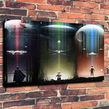 Star Wars TIE Fighter Artwork Fantasy Canvas Painting Print Living Room Home Decor Modern Wall Art Oil Painting Poster цены