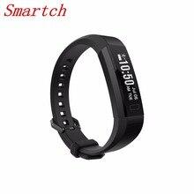 Smartch Последняя мода Стиль Bluetooth 4.0 Фитнес V11 смарт-браслет сердечного ритма Мониторы Smart Band вызова SMS текста напоминание наручные