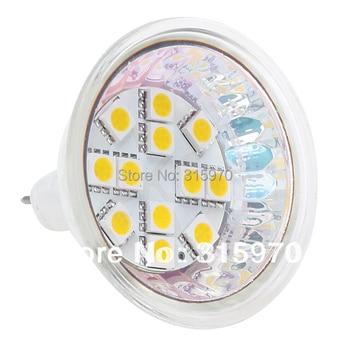 MR16 led bulb smd bulb led lamp MR16 led lamp light 12VDC 12LED 5050SMD 2.4W 5060 SMD 12V 24V MR16 LEDS BULBS 20pcs/lot