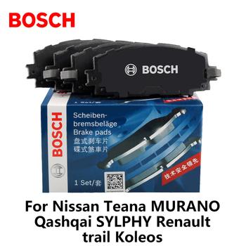 Bosch hamulec samochodowy klocki 0986ab1186 dla nissan teana MURANO Qashqai SYLPHY Renault trail Koleos tanie i dobre opinie