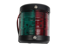 Kırmızı Yeşil Bi renk navigasyon ışığı Gösterge Lambası 12 V tekne Yat Yelkenli Sinyal Lambası