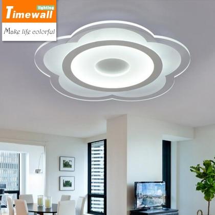 Runde wohnzimmer lampe super dünne led deckenleuchte moderne ...