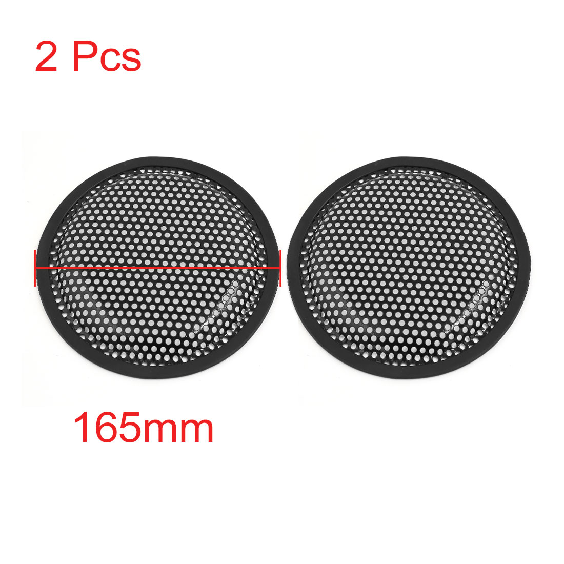 X AUTOHAUX 4pcs Grill Cover 8 Inch Mesh/Protector Car Speaker Cover Woofer Subwoofer Grill