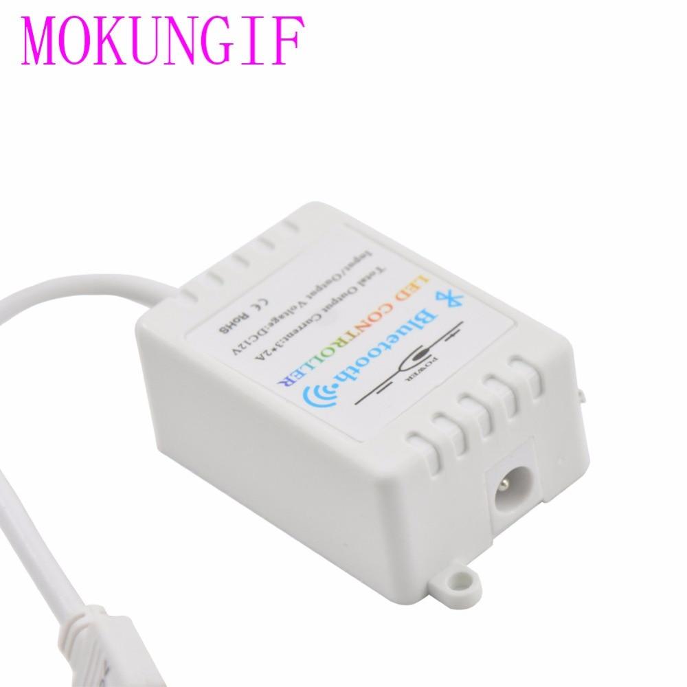 10 stücke DC12V 6A Bluetooth LED RGB Controller, musik, zeit, Drahtlose IOS/Android Bluetooth 4,0 für SMD 5050 3528 RGB led streifen Licht - 3
