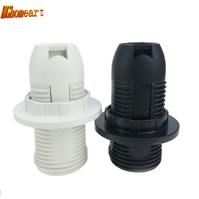 chandelier accessories E14 lampholder PVC pendant bulb holder E14 lamp holder lampholders 110V 220V E14 cartridge light socket