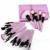 Nuevo 32 Unids Negro Azul Rosa Púrpura Pinceles de Maquillaje Polvos Base Colorete Delineador de ojos Cepillo Cosmético Con Bolsa de Belleza de la venta Caliente regalo
