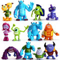 2016 New 12 PCS Monsters Monsters University Mike Sully Action Figure Toy Loose Gift