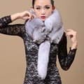 Fashion Genuine Real Natural Whole Fox Fur Collar Coat Scarf 130 cm Fur Luxury Collar Scarf/Shawl/Wrap Neck Winter Warm