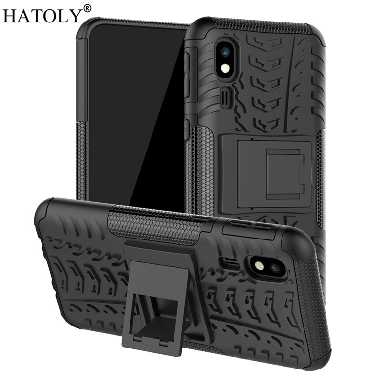 For Samsung Galaxy A2 Core Case Rubber Silicone Hard PC Cover for Phone