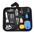 Assista Repair Tool Kit saco Portátil durável Pulseira Ligação Removedor de Zíper Caso Relógio fabricante de Armazenamento De Família
