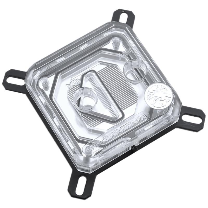 PPYY new-cpu-xpr-b-pa, pour blocs d'eau Cpu Intel Lga115X/2011, système d'éclairage Rbw, bloc de refroidissement à eau Microwaterway