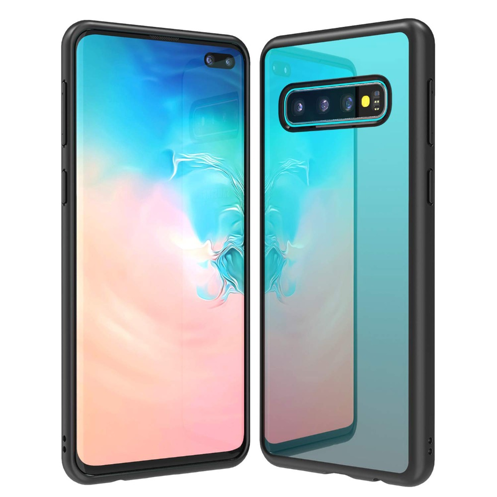 3eaeda216f8 Soft Silicone Back Cover For Samsung Galaxy S10 Case For Samsung S10 Plus  Phone Case For ...