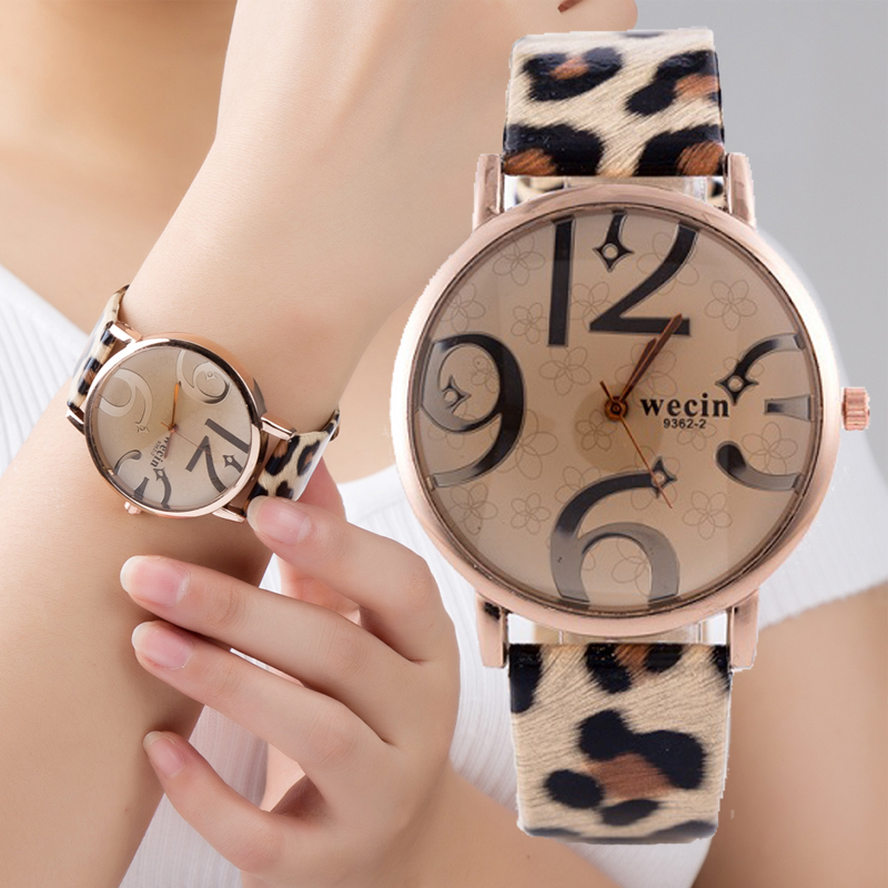 Leopard print Women watches 2018 New Fashion Silicone Strap Analog Quartz Wristwatch ladies Women Wrist Watches bayan kol saatiLeopard print Women watches 2018 New Fashion Silicone Strap Analog Quartz Wristwatch ladies Women Wrist Watches bayan kol saati
