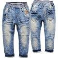 3567 мягкие Мальчиков джинсы брюки упругие дети твердые случайные джинсы детские брюки Дети джинсы детей для мальчиков джинсы брюки