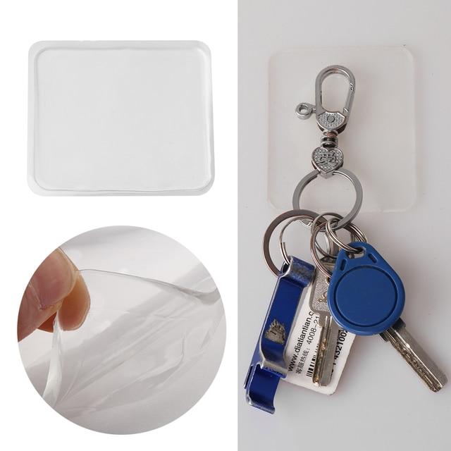 1/5/10pcs Super Easy Gripping Pad Car Mobile Phone Holder Anti-slip Mat Transparent Sticky Gel Pad Anti Slip Mat Wall Sticker