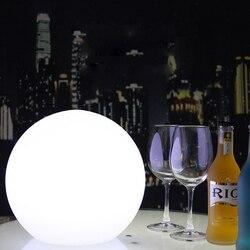Светодиодный перезаряжаемый шар с дистанционным управлением, настольные ночники, домашний бар, стол для рождественской вечеринки, домашни...