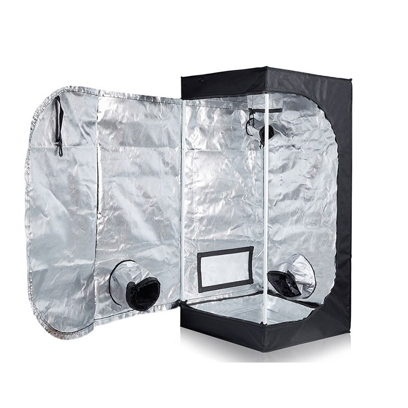 Beylsion 50x50x100cm Reflective Mylar Non 1680D Plant Grow Tent Indoor Growing Tents For Hydroponic Greenhouse (4)
