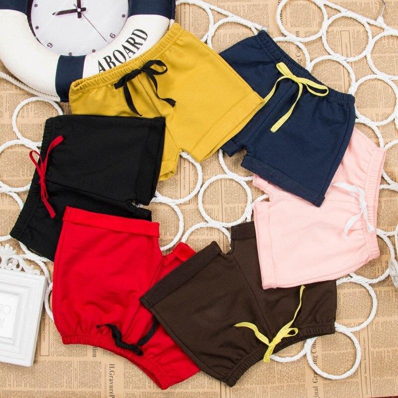 Sommartunna barn bär shorts Pojkebarn och flicka 5 byxor Massiv - Barnkläder - Foto 5