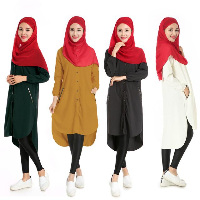 BooLawDee mujeres del otoño del resorte elástico spandex camisa larga tops estilo de la vendimia de la manga completa botón de cierre tamaño libre T23001