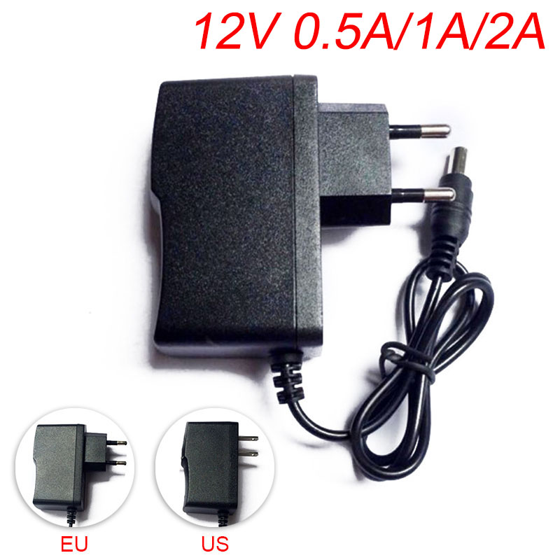 100V 220V to 12V 5V 1A 2A 3A 2000ma AC DC Power Adapter supply converter switch plug 5.5mm x 2.1-2.5mm for CCTV LED Strip light xinfi 12v2a 1a ac 100v 240v power adapter dc connector dc 12v2a 1a 2000ma power supply eu us 5 5mm x 2 1 2 5mm for led cctv