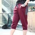 Новые мужские случайные весна лето мешковатые гарем мужской досуг короткие капри брюки M-XXL