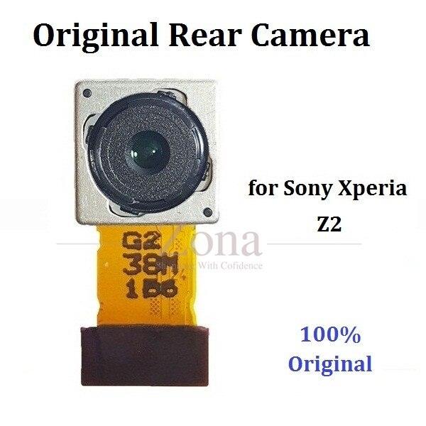imágenes para Original del 100% para sony xperia z2 volver trasero módulo de la cámara 20.7mp reparación de parte de reemplazo